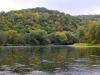 Beautiful autumn colors on the San river, Eldorado